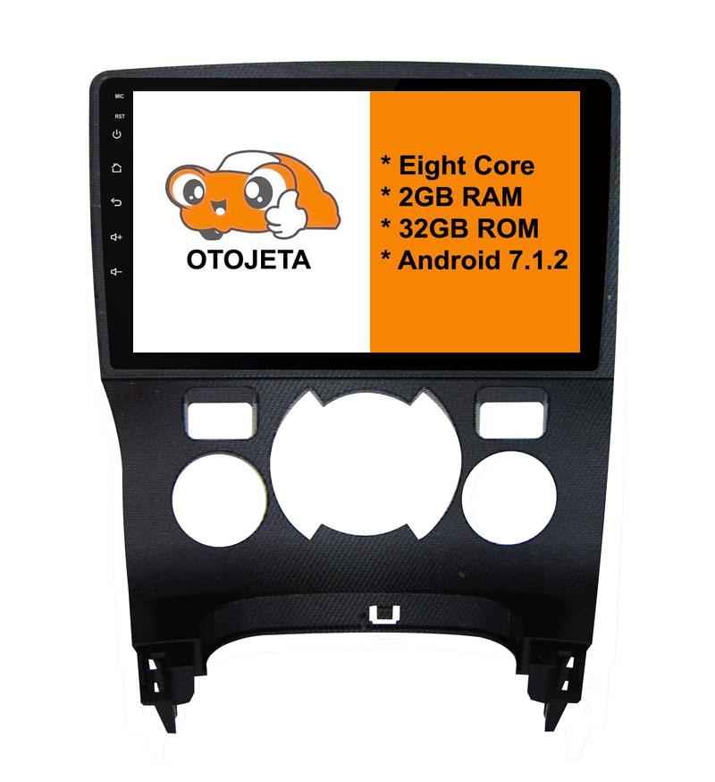 Eight Core Android 7 1 2 2GB RAM OTOJETA car dvd FOR Peugeot 3008 2009 2013