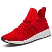 Running Shoes For Man Black White Sport Shoes Men Sneakers Zapatos corrientes de verano Red chaussure homme de marque 25