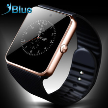 iBlue for Smart watch GT08 Bluetooth connectivity for apple iphone IOS android font b smartwatch b