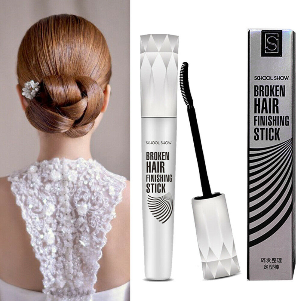 1Pc 20ml Small Broken Hair Finishing Sticks Mascara Style Refreshing Shaping Gel Cream Hair Gel Easy To Shape Hairstyle