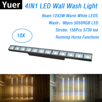36w led rigid strip 12x3w led wall washer light landscape outdoor lighting waterproof white green 1m 100cm ce Free Shipping 12X3W Led Bar Wall Wash Light DMX Controller Washer Led Outdoor Flood Light DJ Bar Party Show Stage Light Led Dj