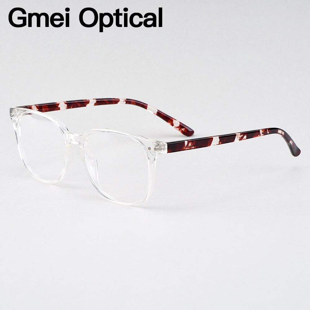 Streng Gmei Optische Voguish Oval Transparent Marke Designer Frauen Gläser Rahmen Für Brillen Optische Brillen H8021 Bekleidung Zubehör