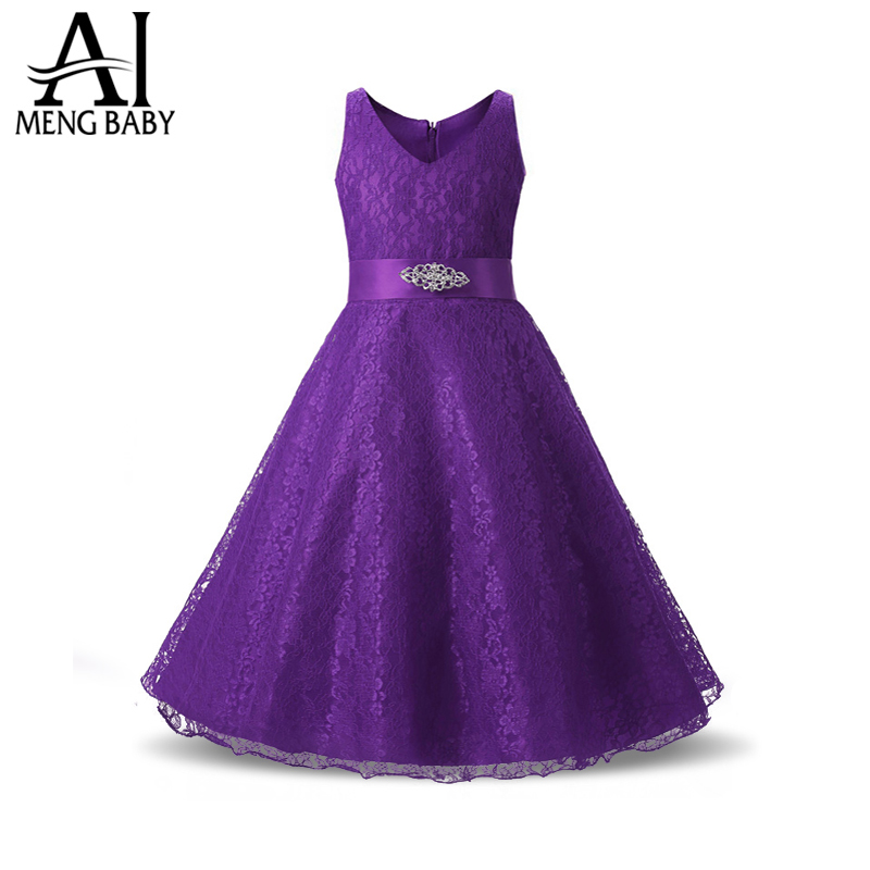 Wedding Party Princess Girl Dress Formal Wear 8 9 10 11 12 Years Birthday Dresses for Girls baptism Kids Flower Girls Clothes summer wedding party princess girl dresses formal wear 2 3 4 5 6 7 8 years birthday dress for girls kids bow tie girls clothes