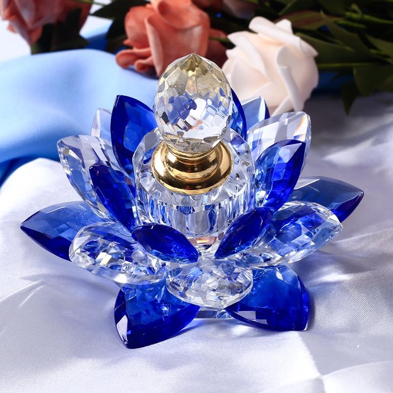 1 дана Crystal Lotus Flower Figurines Парфюмерлік - Үйдің декоры - фото 3