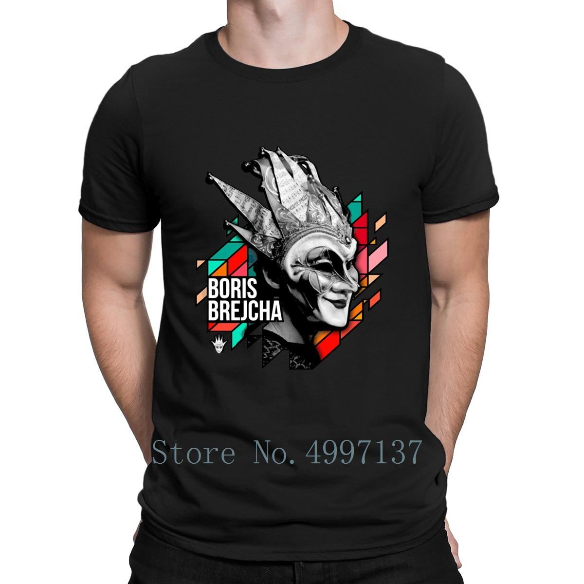 Boris Brejcha   T     Shirt   Tee   Shirt   Summer Style Unique S-3xl Designs Basic Novelty Anti-Wrinkle   Shirt