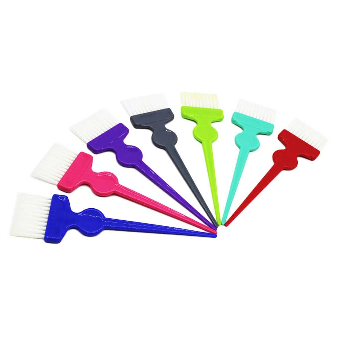 Профессиональный салон краска для волос Окраска кисти оттенок парикмахерские инструменты для укладки щетка для волос умирает инструмент двусторонняя для парикмахера