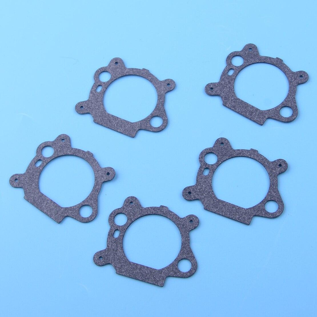LETAOSK 5pcs Carburetor Gasket Replacement 799868 498254 497347 497314 498170 Fit For Briggs & Stratton