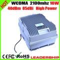10 Вт WCDMA 3 г ретранслятор 2100 мГц мобильный телефон ретранслятор WCDMA 3 г сотовый телефон усилитель сигнала 40dBm 85dBi усилитель 10 Вт высокой мощности