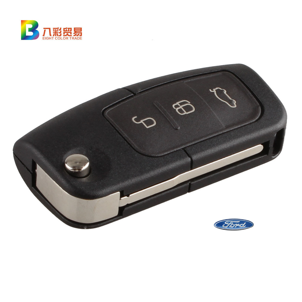 New high quality flip folding car remote flip key shell case fob key cover protector for