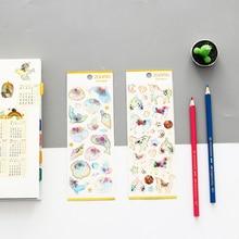 1pcs/lot Kawaii Cute Cartoon Epoxy Beautiful Dream Crystal Diary Stickers Decoration Scrapbooking DIY Sticker Stationery