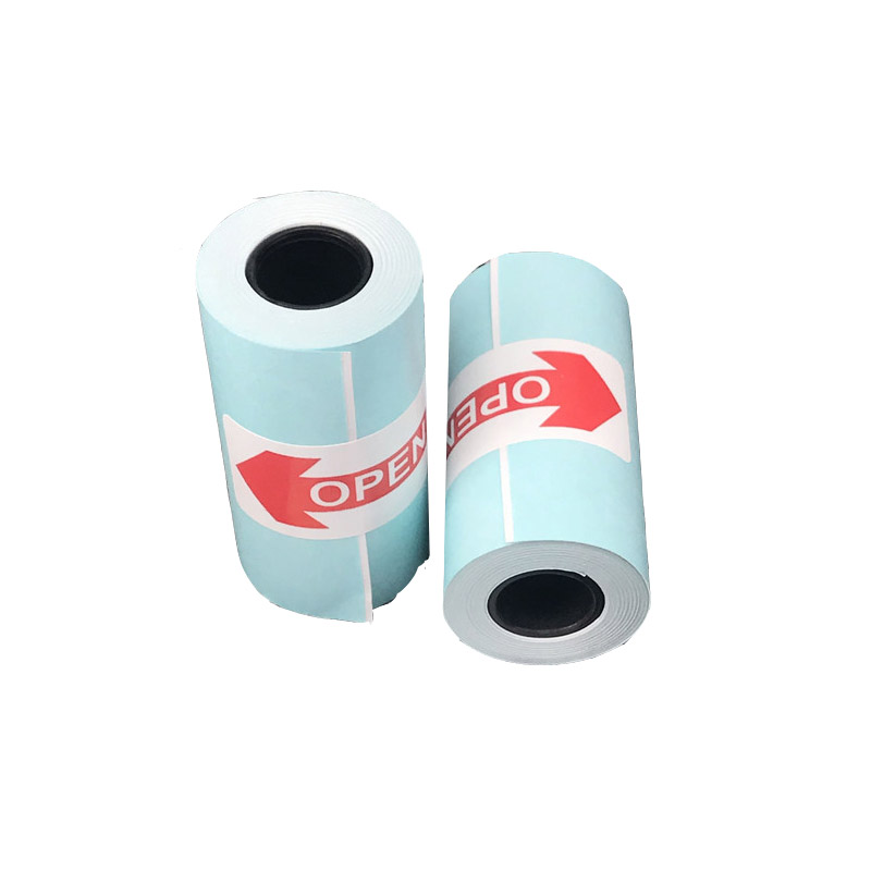 US $7 59 5% OFF|3 Rolls Printing Paperang Sticker Paper White and Black  Adhesive Photo Paper for Mini Pocket Photo Printer Paperang 57mm-in Photo