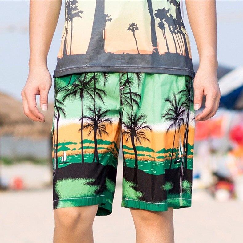 Brisk Praia Sportswear dos homens De Surf Curta calças