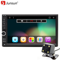 Junsun 7 2 Din Car DVD Android 6 0 Radio Multimedia Player 1024 600 Universal GPS