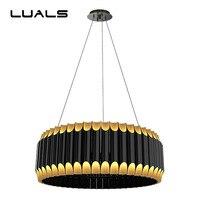 Luxury Pendant Lamp Creative Aluminum Alloy Material Pendant Lights Postmodern Metal Living Room Restaurant Indoor LED Lighting