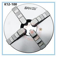 Sanou K12 100 4 Inch 4 Four Jaw 80mm Lathe Chuck Cartridge with Self Centering Machine Tools Accessories for Lathe