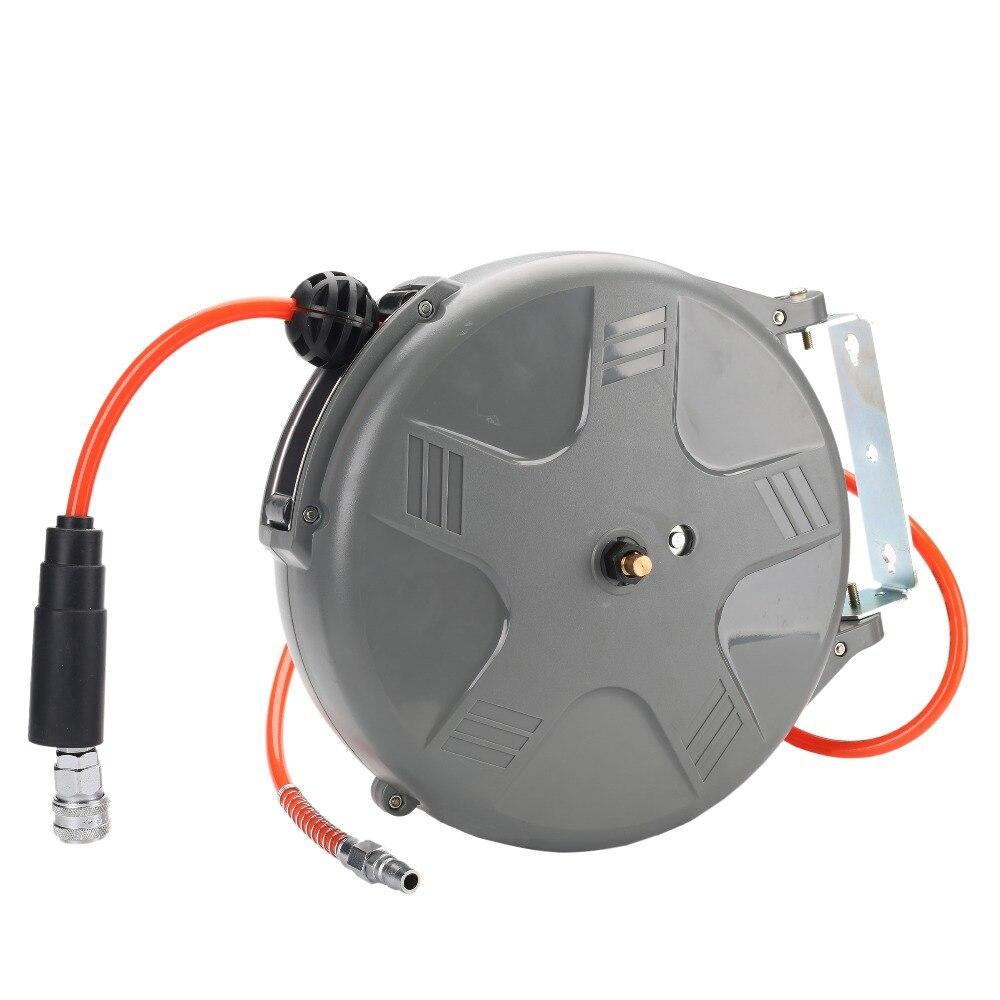 HD-610 6.5x10 mm 1M Retractable Air Hose Reel Air Blower Industrial Blower Automotive Air Hose Reel