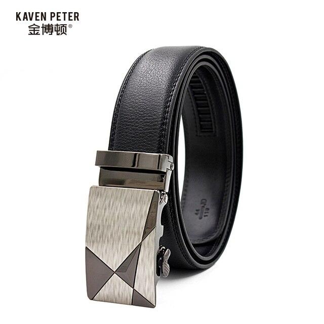 Luxury 100% Genuine Leather Belt For Men