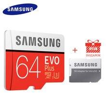 SAMSUNG – carte Microsd de 256 go, 128 go, 64 go, 32 go, 16 go, 8 go, 100 mo/s Carte mémoire Micro SD, classe 10, U3, UX, SDXC, EVO +, TF, Flas