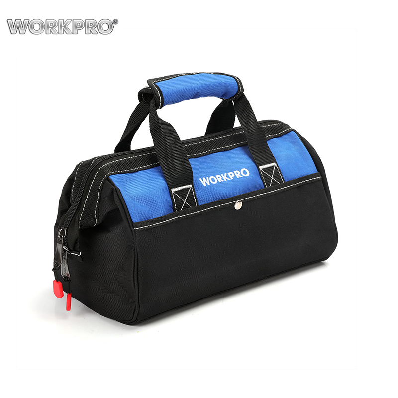Tool Bag WORKPRO W081103A Men Hand Bag for Tools Bags Electrical Bag Waterproof Tool Storage Bag free shipping tool bags oxford waterproof fabric electrical tool bag storage box multi bags tool belt saddle bag ad1030
