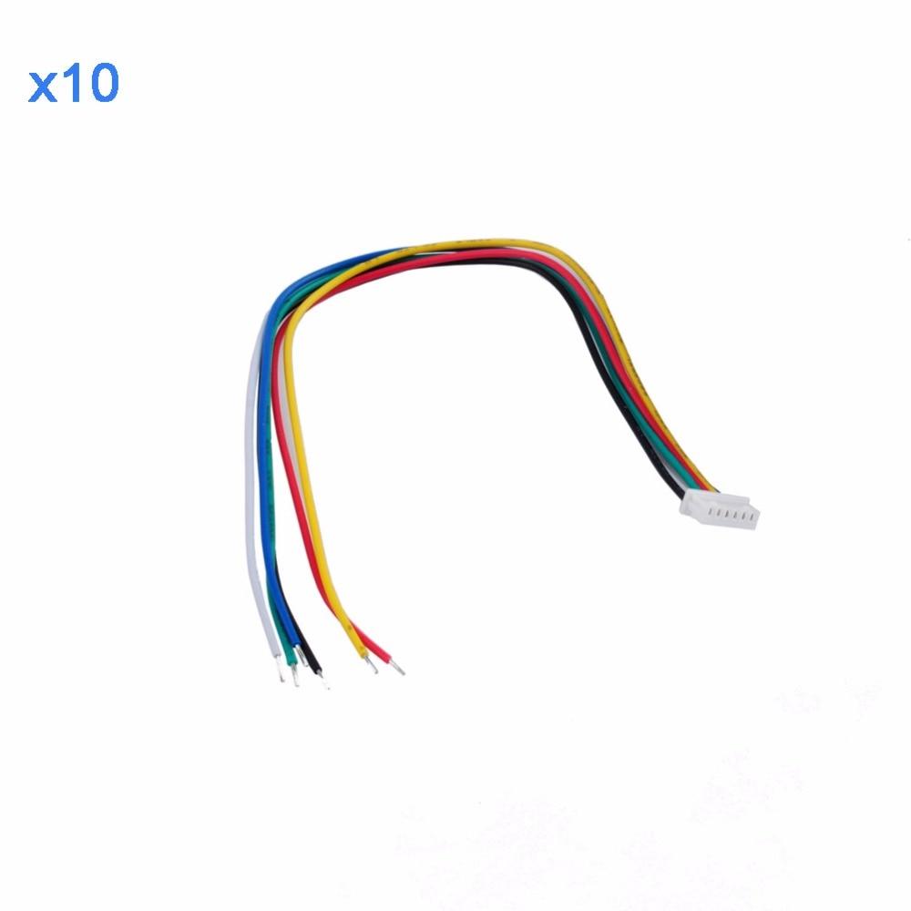 10 pièces Câble pour Lecteur D'empreintes Digitales Optique Capteur Module pour Arduino Mega2560 UNO R3 RCmall XZ0788