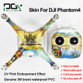 PGY  sticker stickers skin 3M DJI Phantom 4 PVC  PVC Waterproof  decals  PGY-P4S-AN4