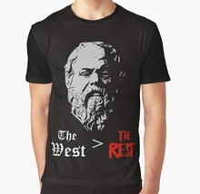 583ac3b8f Buy t shirt of socrates and get free shipping on AliExpress.com