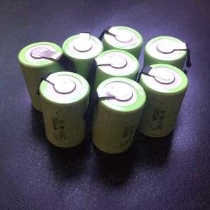 Image 5 - 8pcs 1.2v 2500mah 4/5 Subc Sub C Sc Nimh Rechargeable Batteries Sub C 4/5 1.2v Battery Ni mh Bateria Recargable 4/5sc for 9.6v