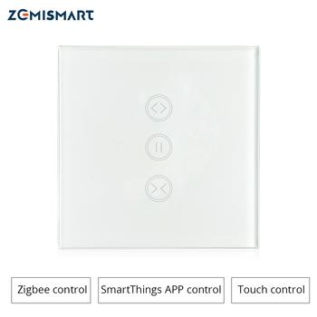 Interrupteur de mur rideau Zigbee EU Compatible avec le moyeu SmartThing pour...