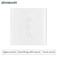 Zigbeeカーテンスイッチsmartthingチュウヤzigbeeハブ制御電動カーテン電動ローラーシェード