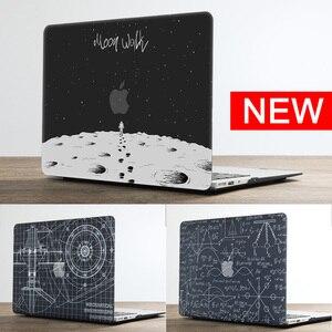 Image 1 - 2020 Новый чехол для ноутбука с принтом Вселенная для MacBook Air Pro Retina 11 12 13 15 16 дюймов с сенсорной панелью + клавиатурой