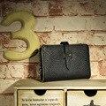 Натуральная Кожа Кошельки Известная Марка Женщины Бумажник 2017 Короткая Леди PU кожаный Бумажник Простой Карты Бумажник portefeuille femme