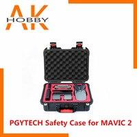 Pgytech pgy caso de segurança para mavic 2 impermeável caso de transporte para dji mavic 2 pro/zoom zangão acessórios