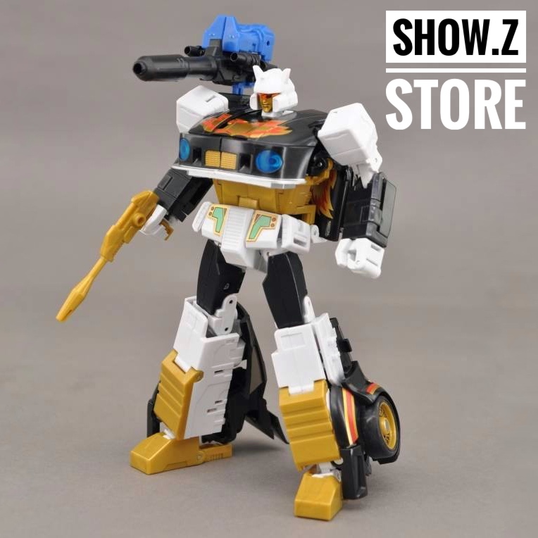 [Show.Z Store] MakeToys MTRM-09SP Bounceback Jazz Ricochet Transformation Action Figure литвинова а литвинов с кот недовинченный
