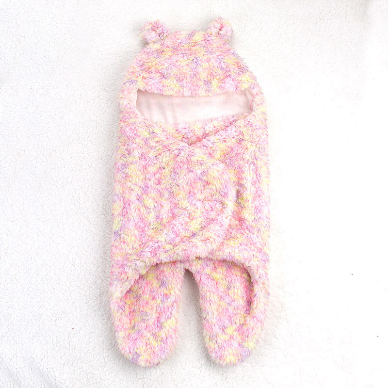 New Baby Sleeping Bags Winter Warm Newborn Envelope Baby Sleepsacks Blanket Swaddle Double color sleeping bag 0-6 months