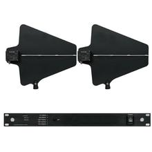 470 MHz-960 MHz Para cinco conjuntos de microfone sem fio amplificador de sinal de antena ANTENA DIRECIONAL para o estágio avançado 400 metros