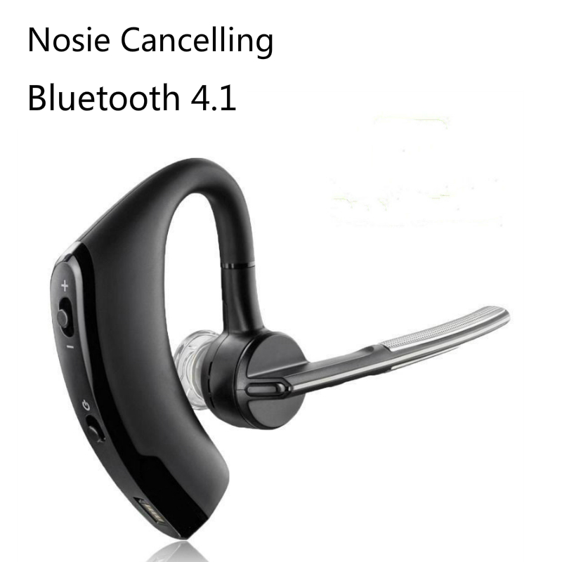 Wireless Bluetooth 4.1 Earphone Nosie Cancelling Sport Headset with Microphone Earhook Earbuds for iPhone Samsung Android Phone remax 2 in1 mini bluetooth 4 0 headphones usb car charger dock wireless car headset bluetooth earphone for iphone 7 6s android