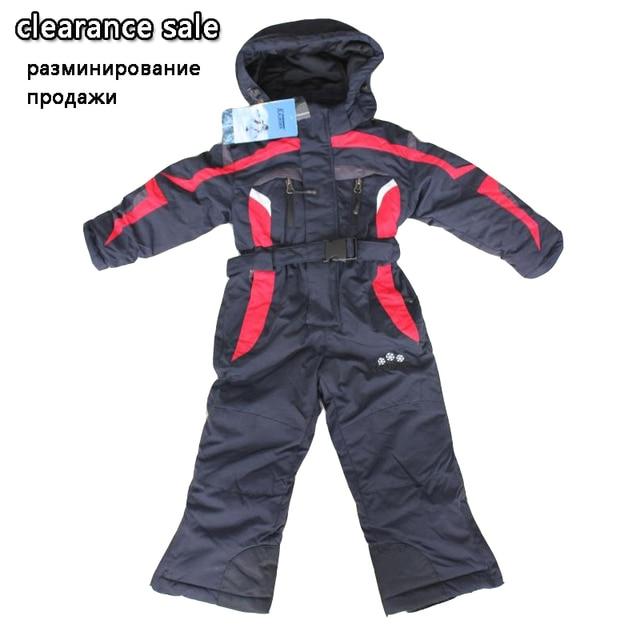 eab4597a1 30 Baby Snowsuits Winter Baby Rompers 2 3 4 5 6 years Waterproof ...