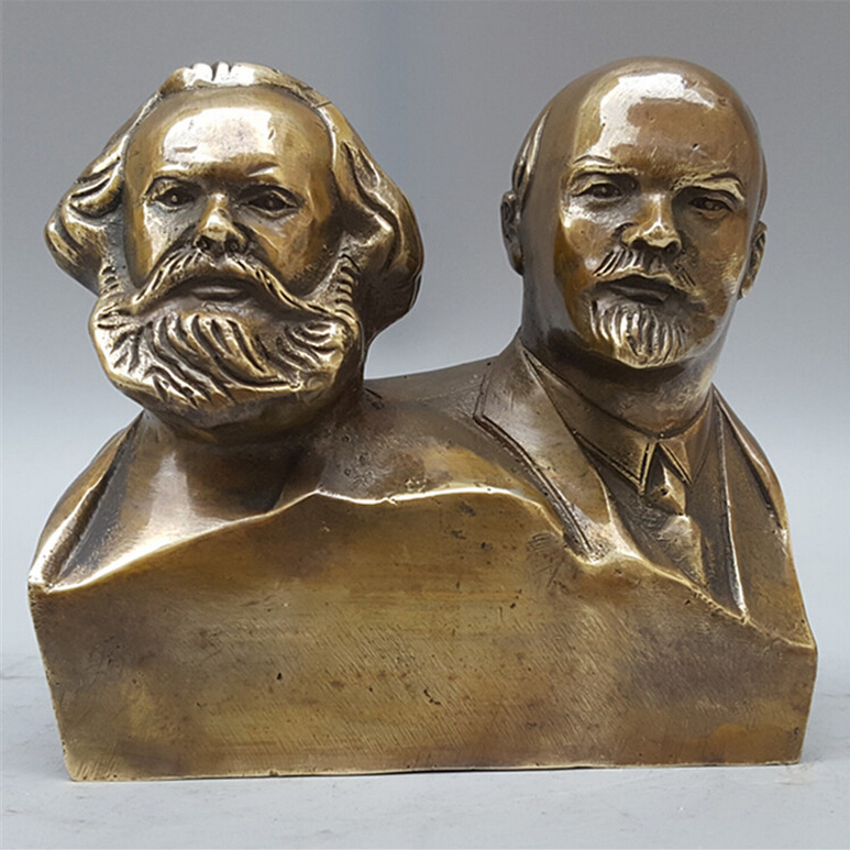 SUIRONG---2017 512+++The store selling hot copper Marx Lenin special offer home decoration  of conjoined sculptureSUIRONG---2017 512+++The store selling hot copper Marx Lenin special offer home decoration  of conjoined sculpture