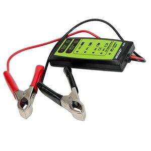 Image 2 - All Sun GK503 12V 6 LED Display Automotive Vehicle Battery Tester Charger Dinagnostic Analyzer Cranking Check GK503