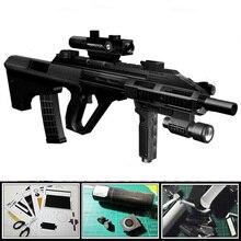 3D Paper Model Gun Magazine Steyr Aug Assault Rifle 1 1 Firearms Waterproof Colored Handmade Puzzle