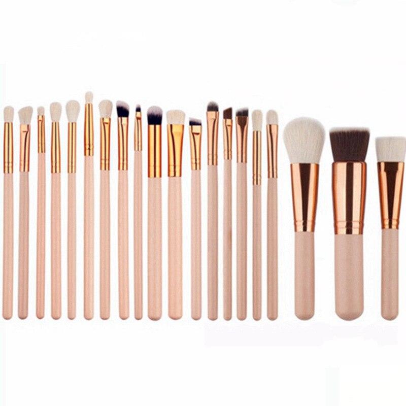 20 Pcs Professional Makeup Brush Set Foundation Eyeliner Eyeshadow Mascara Lip Cosmetics Makep Brush Tools Kits