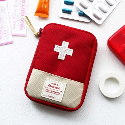 travel portable medicine bag box case first-aid pouch convenient large capacity waterproof oxford emergencies pharmacon packages
