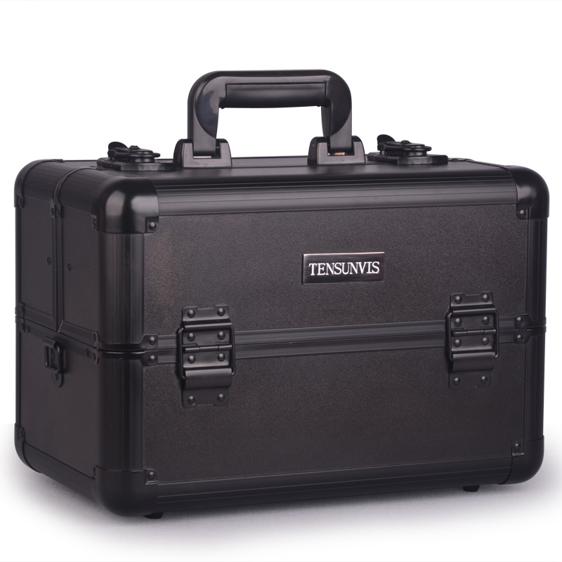 Hot Sale Professional Aluminium alloy Make up Box Makeup Case Beauty Case Cosmetic Bag Multi Tiers Lockable Jewelry Box hot sale professional aluminium alloy make up box makeup case beauty case cosmetic bag multi tiers lockable jewelry box