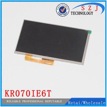 جديد 7 'بوصة lcd عرض مصفوفة ل KR070IE6T قرص 30 دبابيس 163*97 ملليمتر الداخلي شاشة lcd عدسة وحدة استبدال شحن مجاني