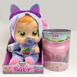 Cry Babies Magic Tears Blind Box Dolls Anime Figure Reborn Baby Doll Toy with Music Bebes Educational Girl Toys for Kids 2A109
