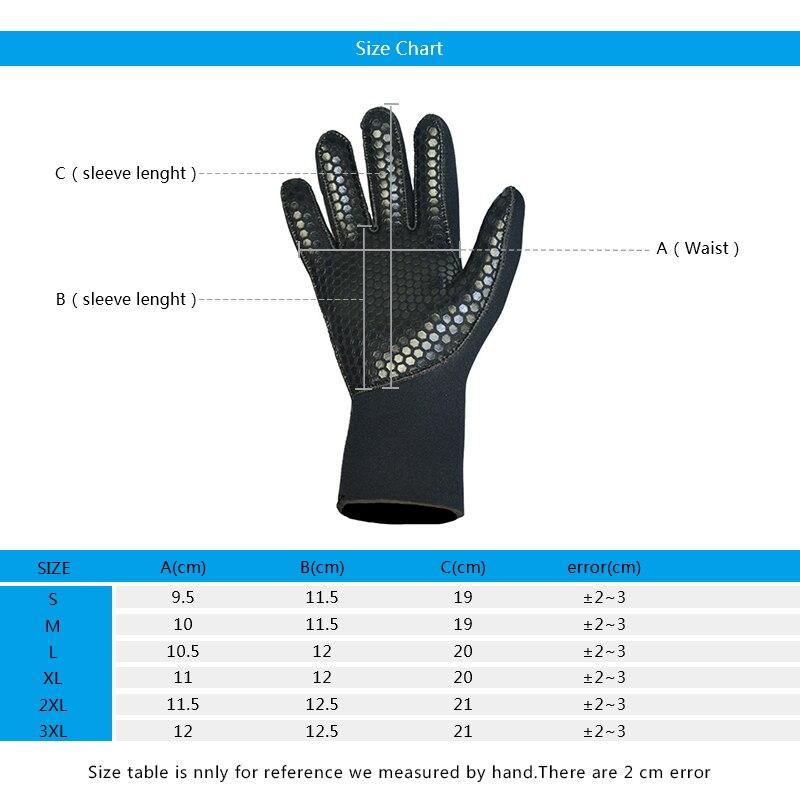5mm neoprene gloves diving gloves