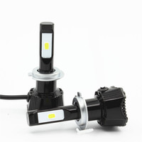 HoldCY H7 LED Car Headlight Bulb For Car 76W 7600LM 6500K COB Chip SUV Fog Lamps