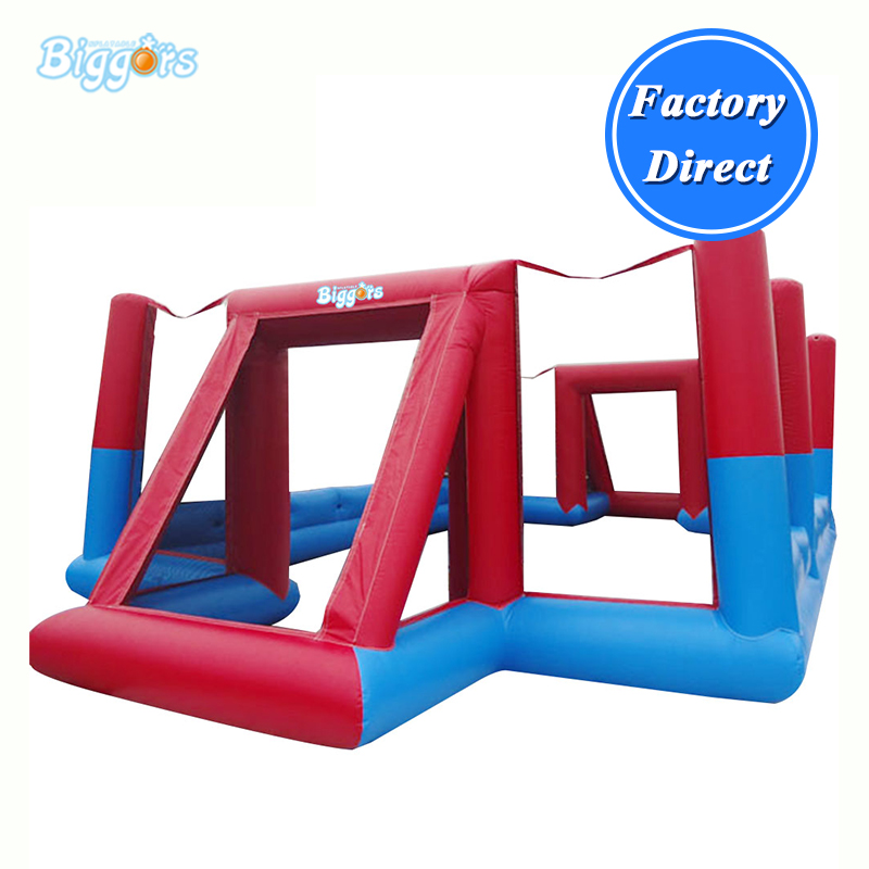 Commercial Inflatable football pitch Inflatable soccer field with blowers