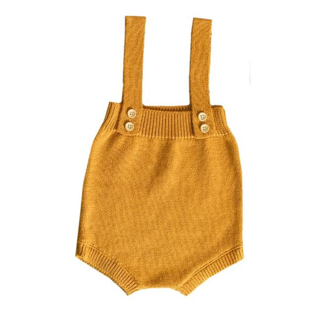 Cute Knitted Rompers - Boys and Girls