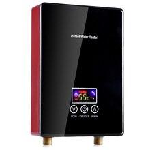 Бытовой мгновенный Электрический водонагреватель с интеллектуальным преобразованием частоты термостат для ванной кухни Электрический водонагреватель